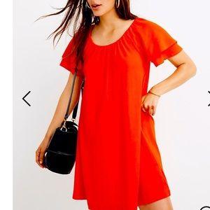 Texture & Thread by Madewell Flare Sleeve Dress